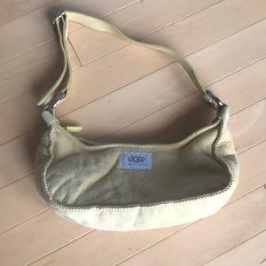 Cute yellow small Ugg purse
